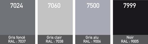 couleurs baches 900 gr